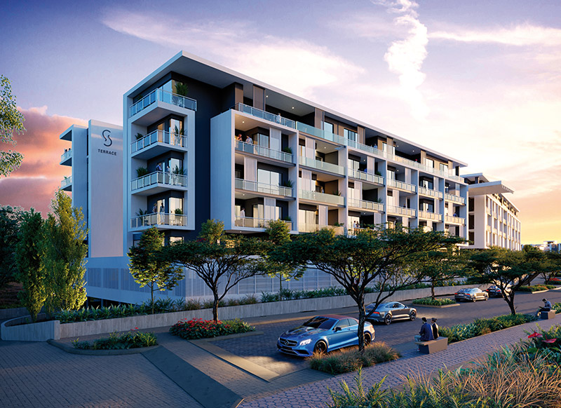Sandton Gate residential development has 137 two and three bedroom exclusive apartments and four bedroom penthouses